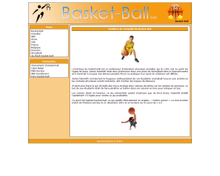 site de basket-ball