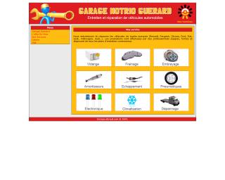 site internet de garage