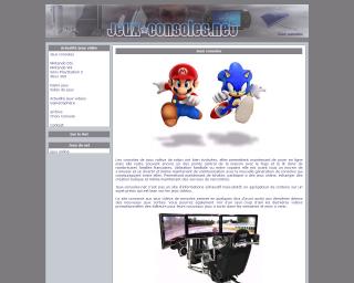 jeux consoles